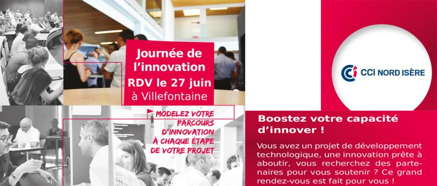 JOURNEE INNOVATION CCI NORD ISERE VILLEFONTAINE